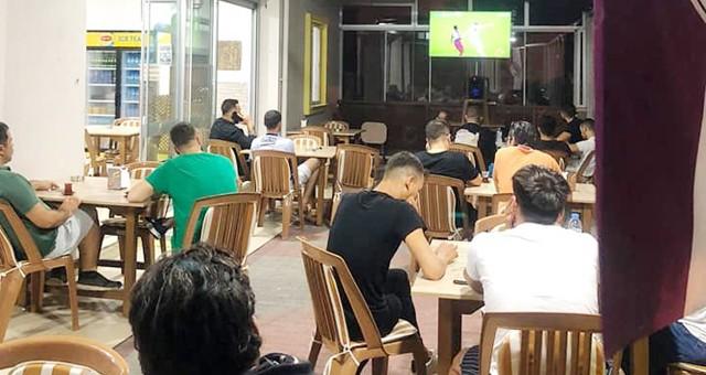 Milasspor Lokali'nde maç keyfi