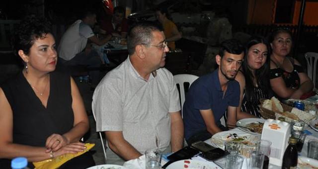 Başkan ve basın çalışanları akşam yemeğinde buluştu