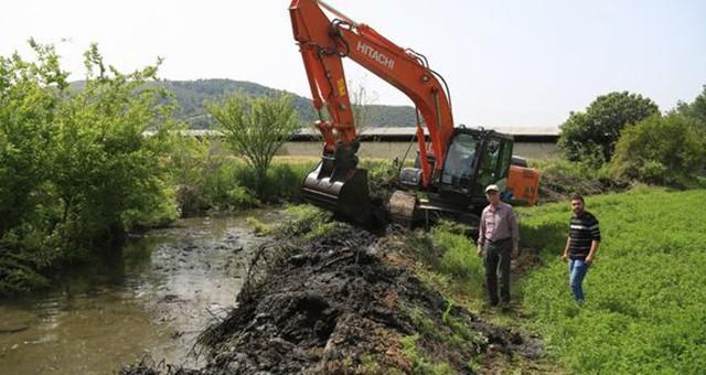 Çiftçilerin su baskını sorunu çözüme kavuşuyor
