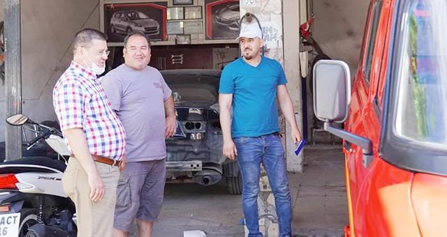 Başkan Tokat'tan sanayi ziyareti