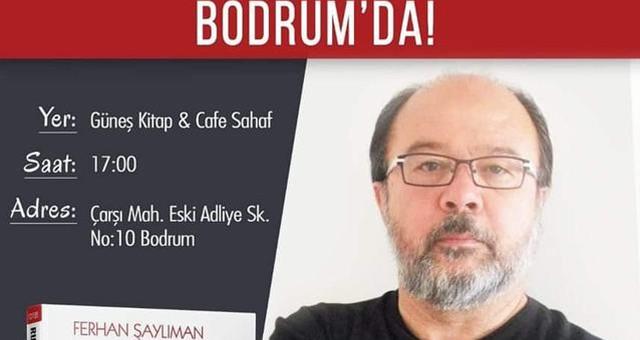 """Şaylıman ve """"Ruhu Terbiyesiz Adam"""" Bodrum'da…"""