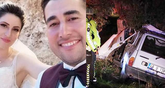 5 aylık evli gece bekçisi,trafik kazasında öldü