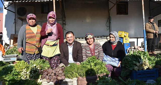 Milas Belediye Başkanı Muhammet Tokat, esnaf ziyaretlerine devam ediyor.
