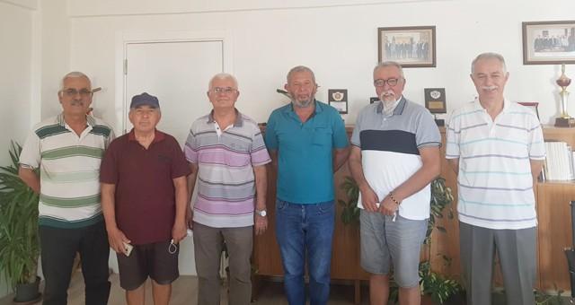 Dörtyol Gençlikspor'un yeni yönetimi Muğla ASKF'yi ziyaret etti