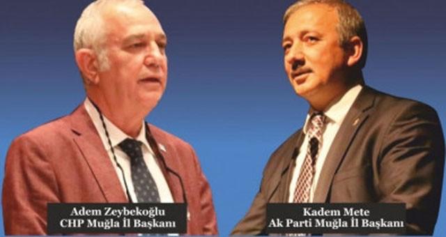 CHP Muğla İl Başkanı Adem Zeybekoğlu'ndan Kadem Mete'ye sert cevap..