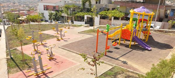 2. Hıdırlık'a 1550 metrekare yeni park