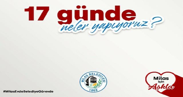 Milas Belediyesi vatandaşların yanında