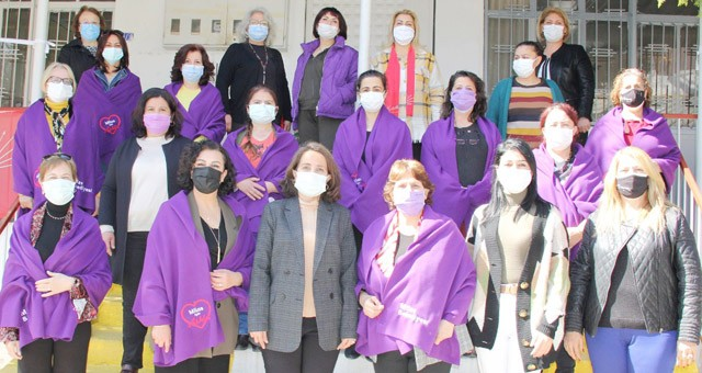 Kadın danışma merkezinden bir dizi ziyaret