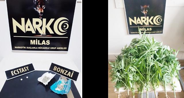 Milas'ta Narkotik Operasyonlar..