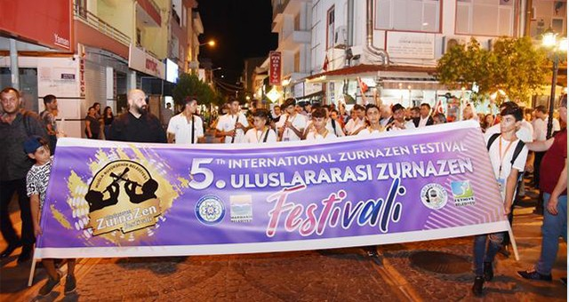 Muğla 5. Uluslararası Zurnazen Festivali başladı...  Tam bir müzik ziyafeti