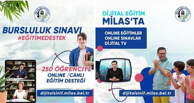 """Milas Belediyesi'nden """"Dijital Sınıflar"""""""