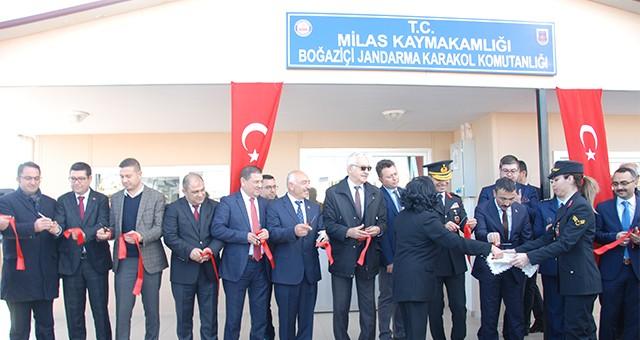 Boğaziçi Jandarma Karakolu törenle hizmete açıldı