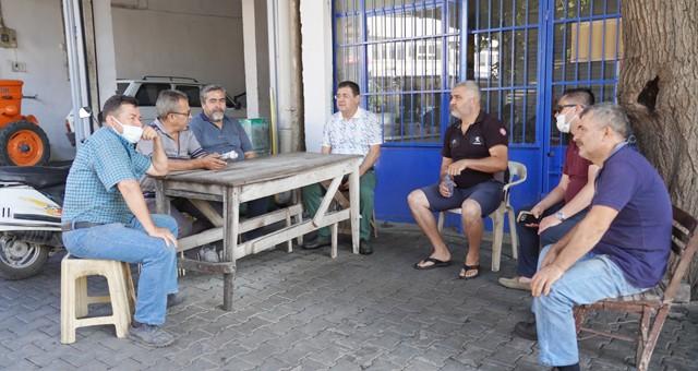 Başkan Tokat, esnafları ziyaret etti