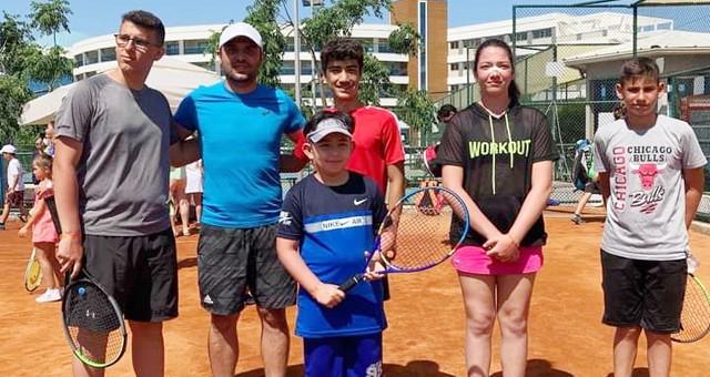 Türkiye Yaz Kupası Tenis Turnuvası başladı