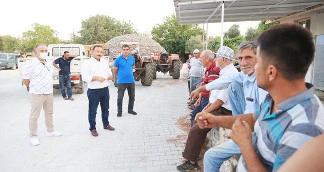 Milas Süt Birliği'nden afet bölgesine geçmiş olsun ziyareti