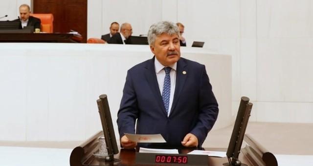 Milletvekili Ergun, Ilbıra Dağı'ndaki madeni TBMM'ne taşıdı..