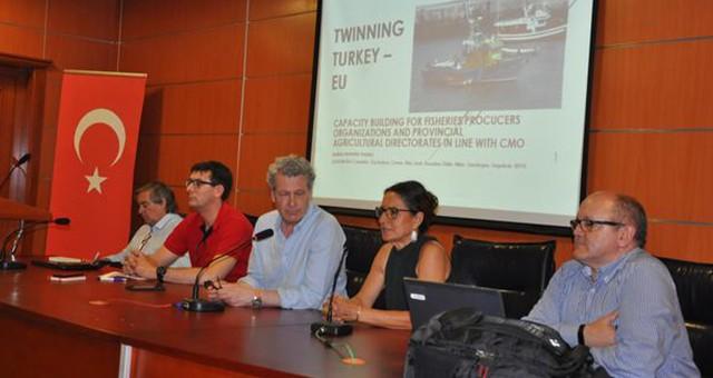 İspanyollardan Su Ürünleri sektör temsilcilerine eğitim…