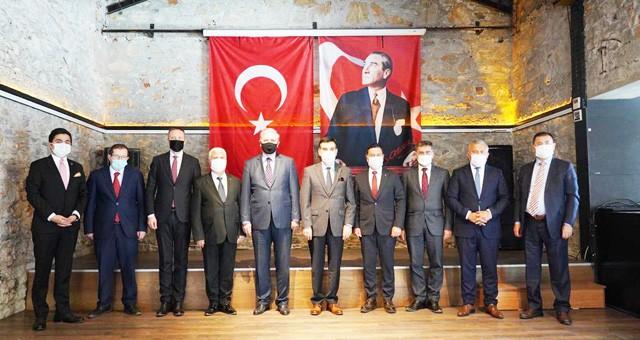 BAŞKAN TOKAT BODRUM'DA  TURİZM DESTİNASYON TOPLANTISINA KATILDI