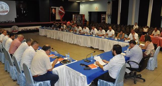 Temmuz ayı belediye meclis görüşmeleri tamamlandı