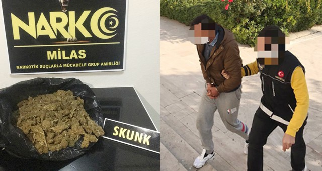 Uyuşturucuyla yakalandı, adli kontrolle serbest kaldı..