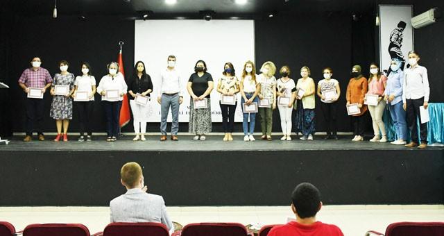 Hayat Boyu Öğrenme Haftası'na katkısağlayanlara teşekkür belgesi verildi
