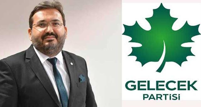 Murat Sodra, Gelecek Partisi İlçe Başkanı oldu