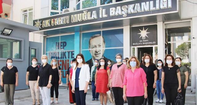 AK Parti Muğla İl Kadın Kolları'ndanAbdurrahman Dilipak'ın yazısına karşıbasın açıklaması