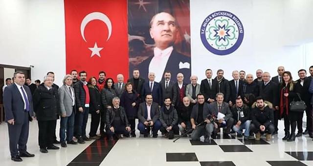 Başkan Gürün Gazetecilerle Buluştu