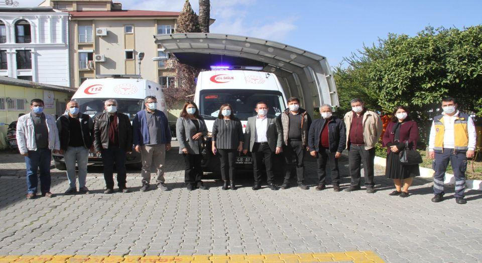 Sağlık Bakanlığı'ndan Fethiye'ye 2 Ambulans