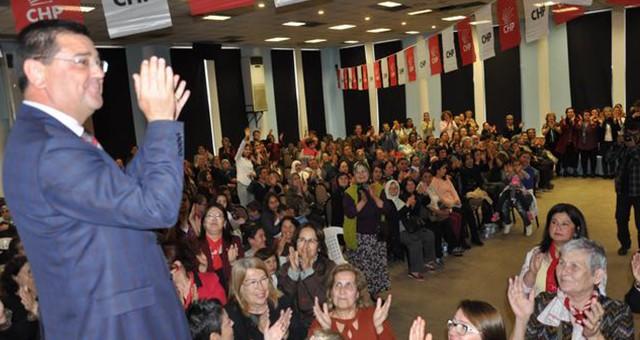 CHP'li kadınların 8 Mart dayanışması…