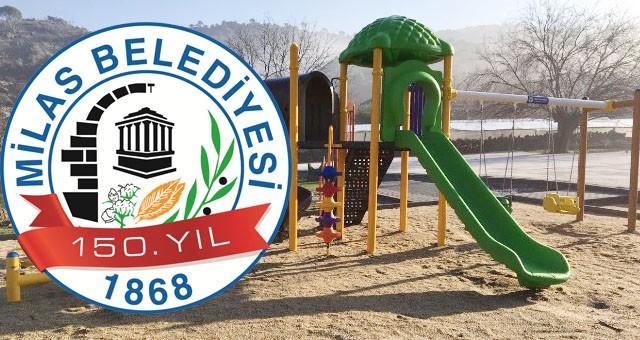 Çocuk oyun grupları yetişkin spor aletleri ve yedek parçaları alınacaktır