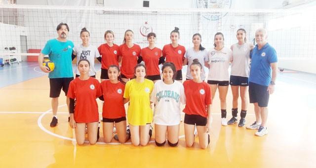 Milas Belediyespor Kızları Lige Hazırlanıyorlar