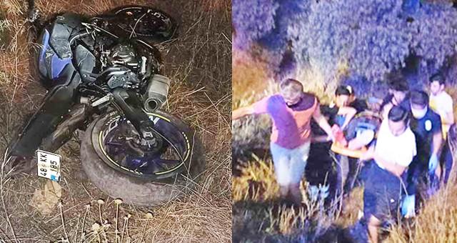 Yine motosiklet kazası: 2 yaralı