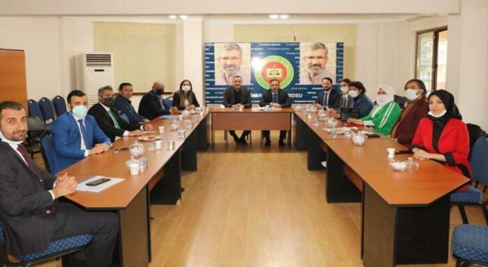 Ak Partiden Diyarbakır Barosu'na Sürpriz Ziyaret