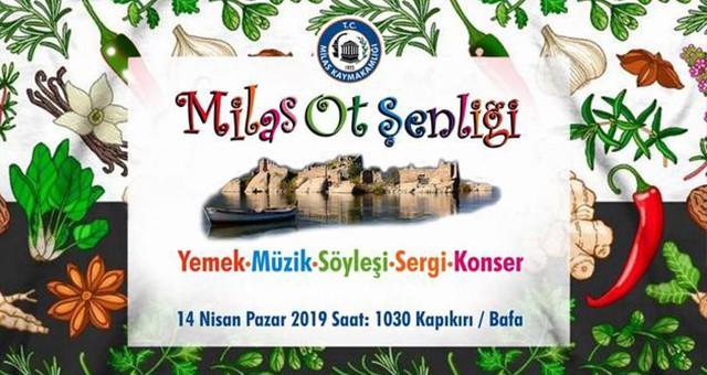 """""""MİLAS OT ŞENLİĞİ"""" 14 Nisan'da Kapıkırı'nda.."""