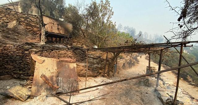 Milas yangınlarında saat 09.44 itibariyle;