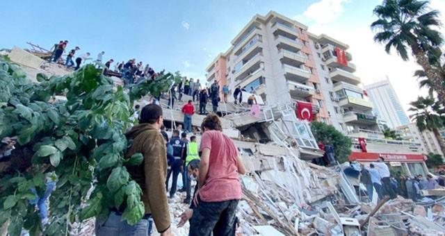 İzmir depremi can aldı…