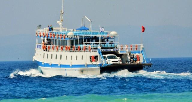 Bodrum-Datça feribot seferleri yeniden başladı