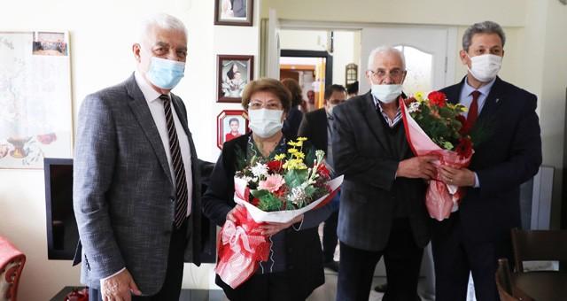 Başkan Gürün'den Yaşlılara Moral Ziyareti