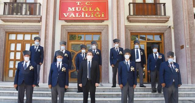 Milas Muharip Gaziler Derneği'nden Vali Orhan Tavlı'ya ziyaret
