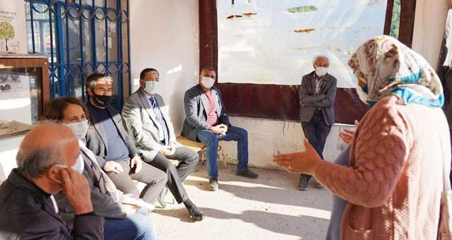 Başkan Tokat, mahalle ziyaretlerini sürdürüyor