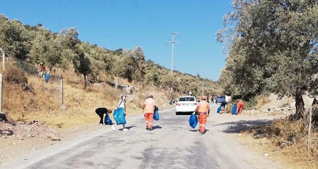 Çevre temizliği etkinlikleri devam ediyor