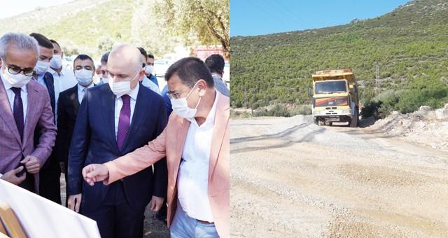 Yeni Devlet Hastanesi'ne Milas Belediyesi'nden alternatif yol..