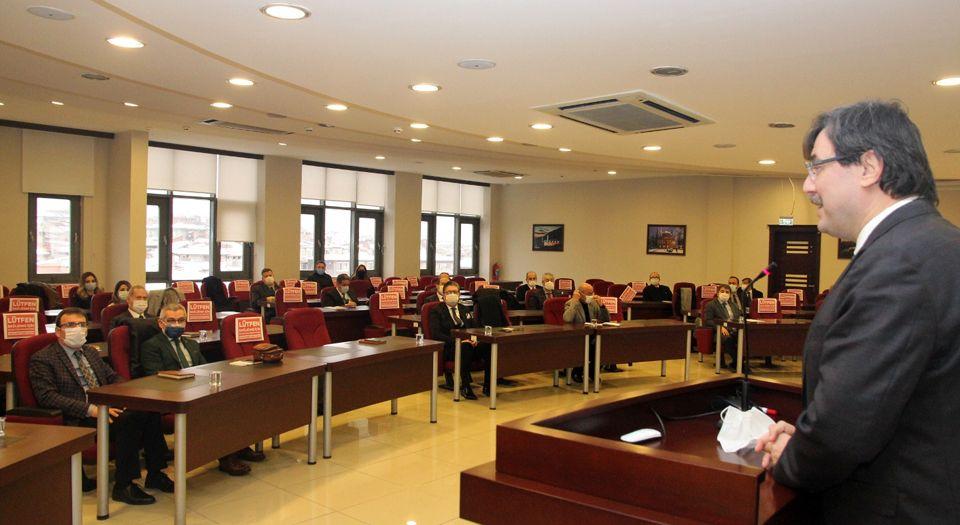 Bursa Milli Eğitim'de Değerlendirme Toplantısı