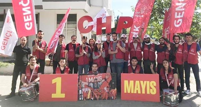 Muğla CHP Gençlik Kolları'ndan 1 Mayıs Bildirisi