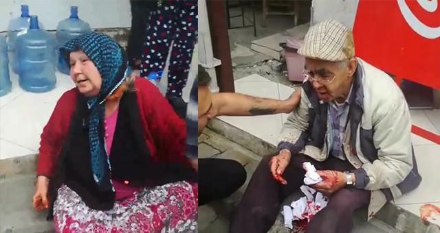 Eski ev sahipleri, yaşlı çifte saldırdı
