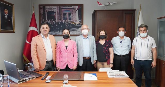 CHP Heyeti'nden Başkan Tokat'a ziyaret