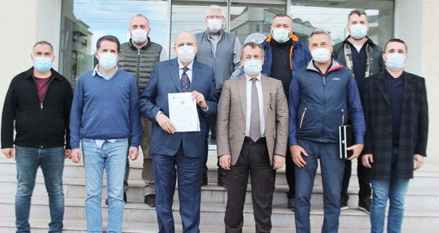Coğrafi işaretli Milas zeytinyağcıları MİTSO'da toplandı: