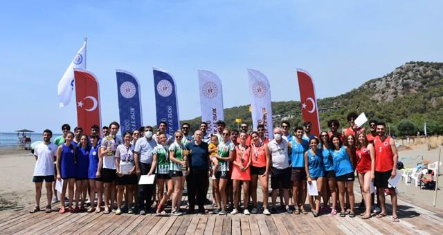 8. Kulüpler Plaj Korfbol Turnuvası Ortaca Sarıgerme'de yapıldı