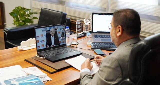 Kılıçdaroğlu Ege Bölgesi ilçe ve belde belediye başkanları ile görüştü